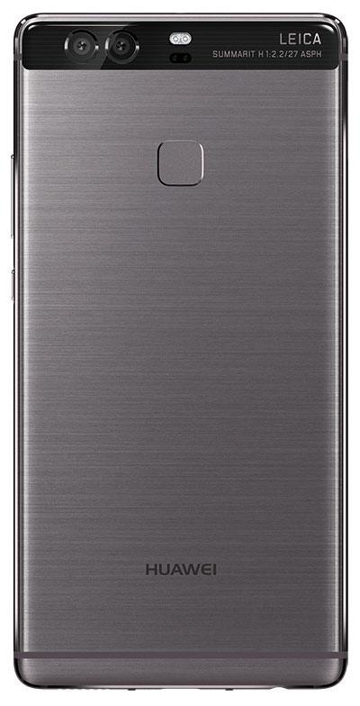 P9 Plus back grey