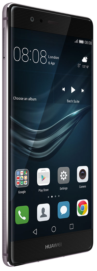P9 Plus front dynamic grey 1