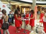 Impressionen vom Huawei-Club Tag im Centro OB