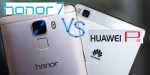 Huawei P8 vs Honor 7